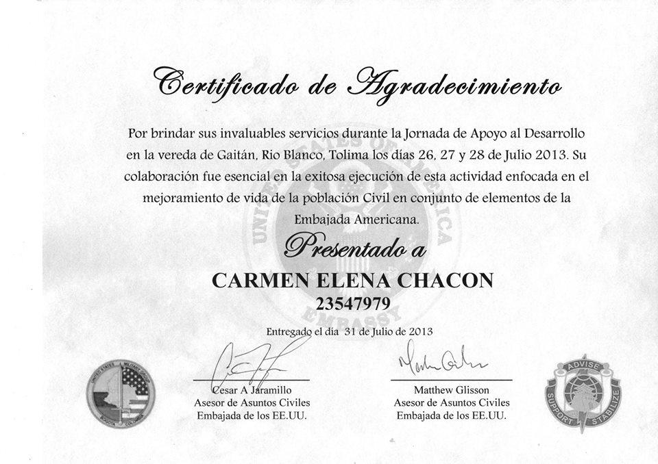 certificado de agradecimiento - Yeni.mescale.co
